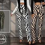 Zebra Set (pants) By Camuflaje
