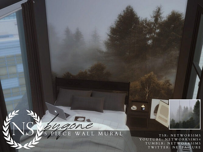 Bygone Wall Mural By Networksims
