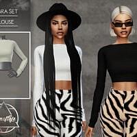 Zebra Set (top) By Camuflaje