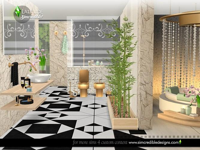Latitude Bathroom By Simcredible