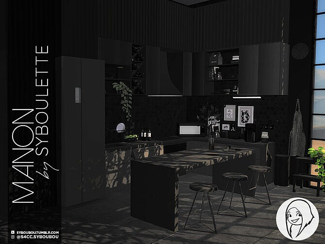 Sims 4 Manon Kitchen Part 2: appliances by Syboubou at TSR