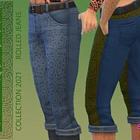 Celtic Rolled Jeans By Simmiev