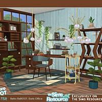 Retro Doris Office By Soloriya