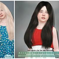 Alia Hairstyle Child By Darknightt