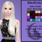 Anto Linda Hair Retexture By Blackcat27
