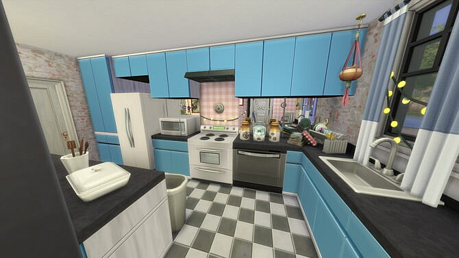 Sims 4 Nice and Cozy house by Keallow 075 at Mod The Sims 4