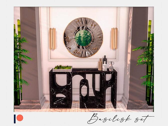 Sims 4 Basilisk hallway set by Winner9 at TSR