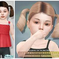Zoe Hairstyle [toddler] By Darknightt
