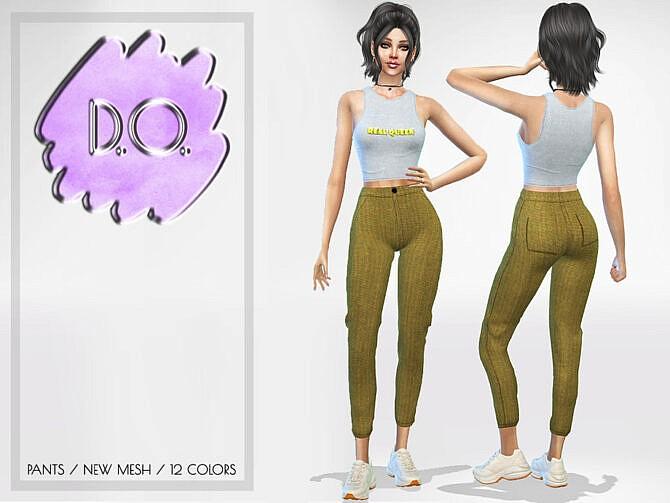 Sims 4 Pants 68 by D.O.Lilac at TSR