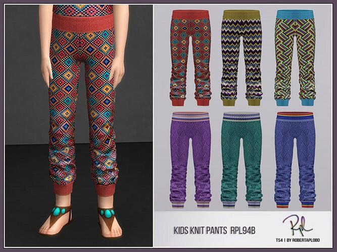 Kids Pants Rpl94b By Robertaplobo