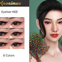 Eyeliner N02 By Anonimux Simmer