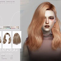 Wings-to0310 Hair By Wingssims