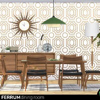 Retro Ferrum Dining Room By Wondymoon