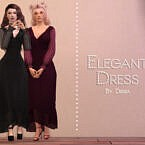 Elegant Formal Dress By Dissia