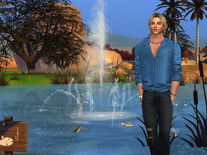 Sims 4 Jerome Lambert by DarkWave14 at TSR