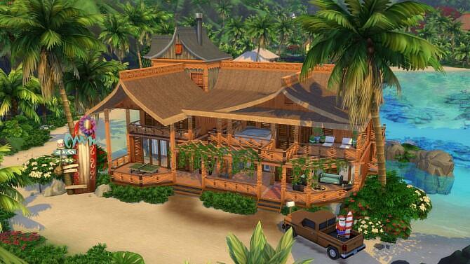 Tropical Getaway Vacation Home By Bradybrad7