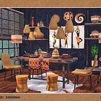 Amari Dining Room By Soloriya