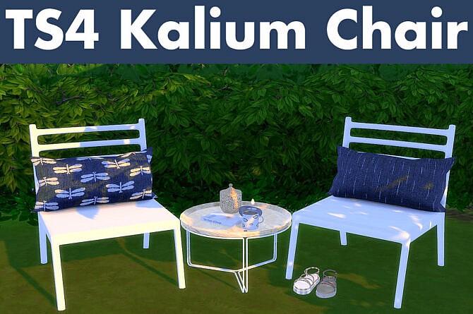 Sims 4 Recolors of Wondymoon's Kalium Chair / Pillow at Riekus13