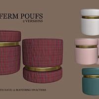 Poufs 2 Versions