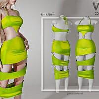 Slit Dress P34 By Busra-tr