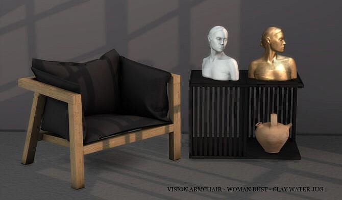 Vision Armchair + Bust + Jug