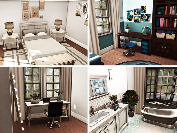 Sims 4 Derwent Mansion by xogerardine at TSR