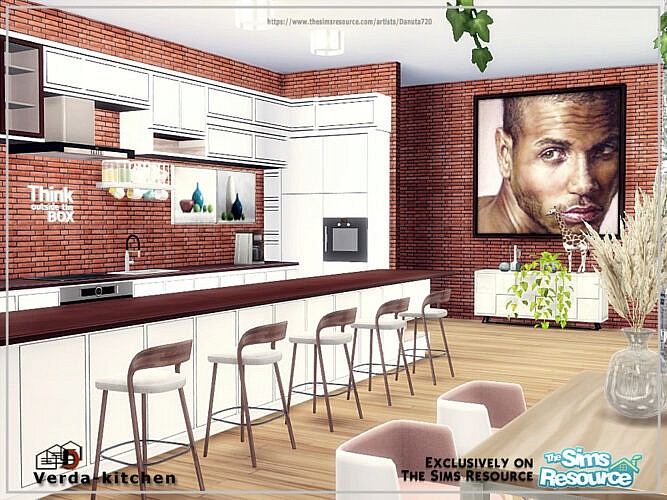 Verda Kitchen & Livingroom By Danuta720