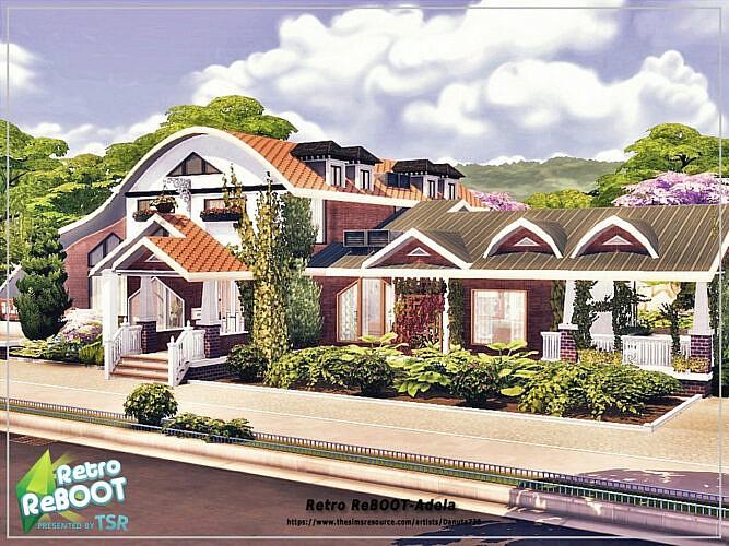 Retro Adela House By Danuta720