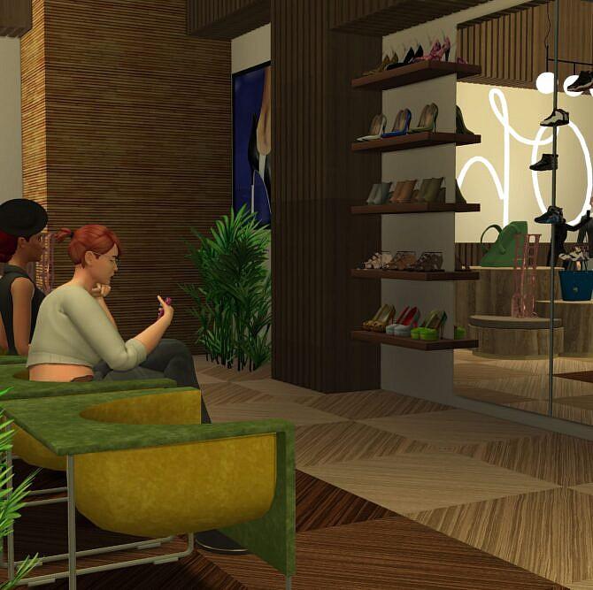 Sims 4 Diamond Mall at Lily Sims