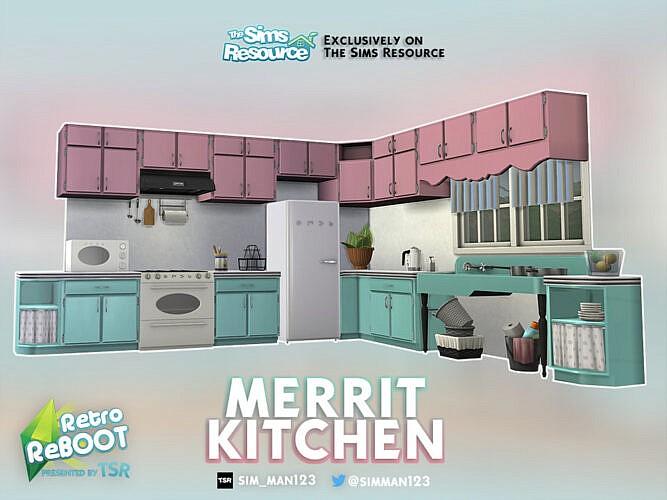 Retro Merrit Kitchen By Sim_man123