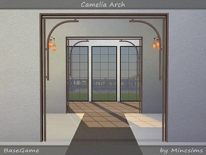 Camelia Arch By Mincsims