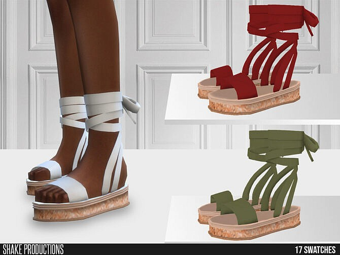 Sims 4 648 Shoes by ShakeProductions at TSR
