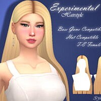 Experimental Hairstyle By Sylviemy