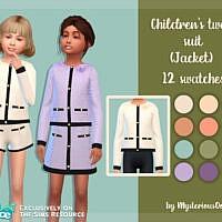 Tweed Suit (jacket) By Mysteriousoo