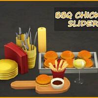 Bbq Chicken Slider