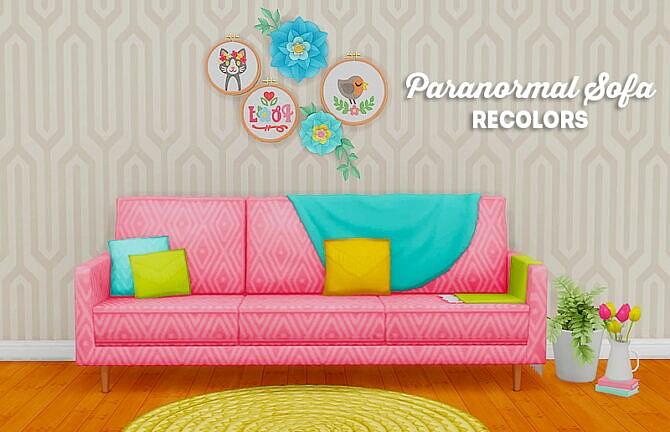 Paranormal Sofa