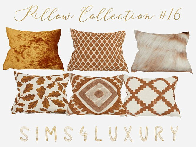 Pillow Collection 16