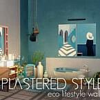 Plastered Style Eco Lifestyle Walls