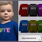 Toddler Sweater Rpl98 By Robertaplobo At Tsr