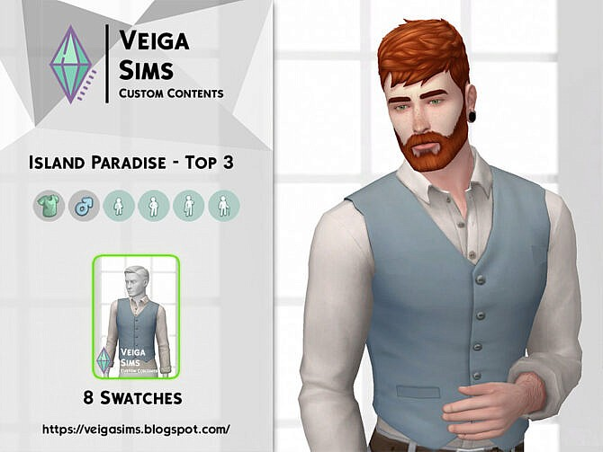 Sims 4 Island Paradise Top 3 by David Mtv at TSR