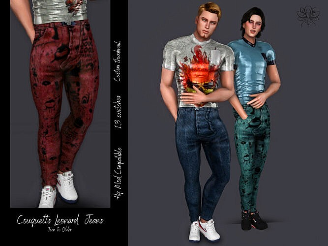 Leonard Jeans By Couquetts