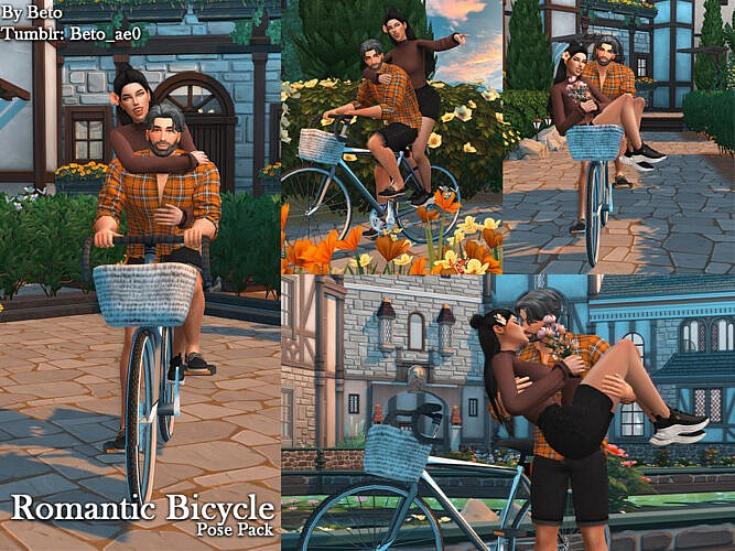 Romantic Bicycle (pose Pack) By Beto_ae0