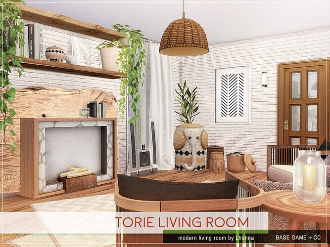 Torie Living Room By Lhonna