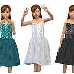 Keycamz Girl's Dress 0426 3 By Erinaok