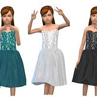 Keycamz Girl's Dress 0426 3 By Erinaok