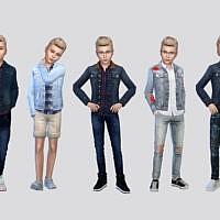 Harper Denim Jacket Boys By Mclaynesims