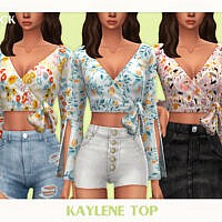 Kaylene Top By Black Lily