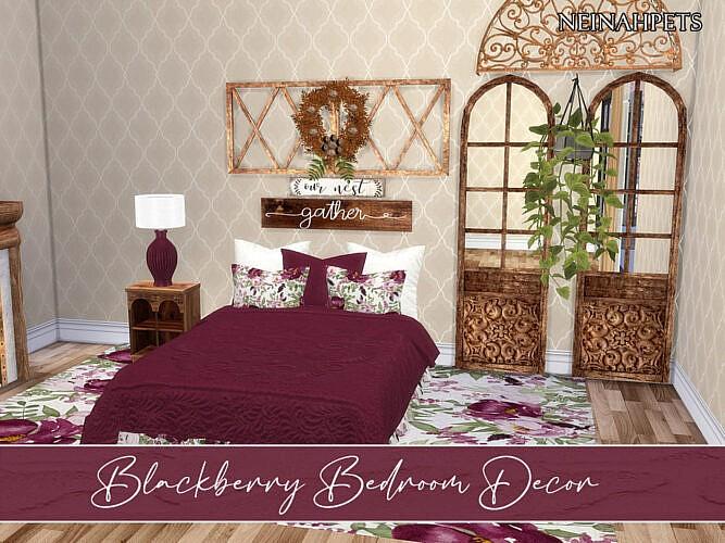 Blackberry Bedroom Decor By Neinahpets