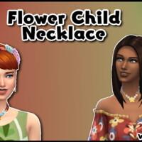 Flower Child Necklace By Welshweirdo