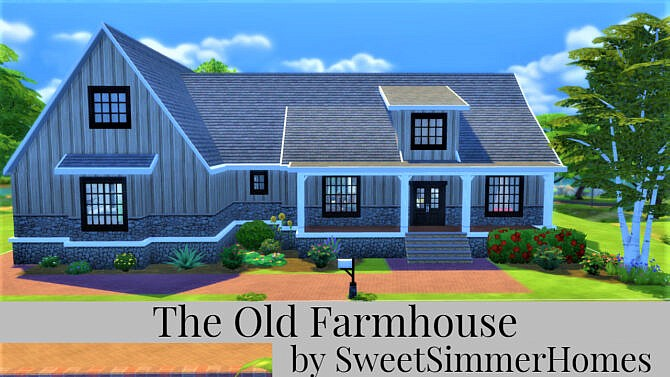 The Old Farmhouse By Sweetsimmerhomes